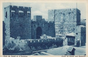 JERUSALEM, Israel, 10-20s; Court of David and Hippicus