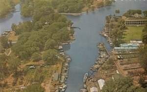TORONTO , Ontario, Canada, 1950-60s ; Marina at Island Park