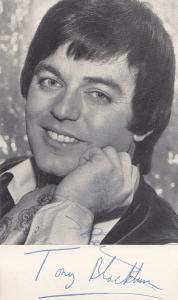 Tony Blackburn 1973 Live Radio 1 Southend On Sea Top Rank Hand Signed Photo