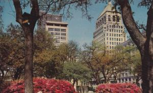 Bienville Square, Waterman Building And The Merchants National Bank Building,...