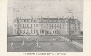 PORTRUSH , Northern Ireland , 00-10s Tennis Courts at Northern Counties Hotel