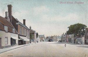 CROWLAND (Croyland) , Lincolnshire , England , 1913 ; North Street