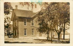 1913 Real Photo Postcard; High School No.2 Arlington IA Fayette County, Posted