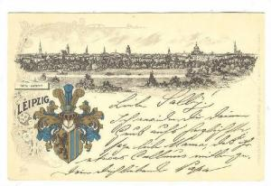 Leipzig , Germany . PU-1899 ; Total - Ansicht