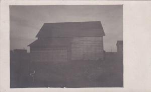 RP: OSAGE , Saskatchewan , 00-10s ; Buildings (Over exposed Photo postcard) #2