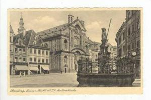Gruner Markt Mit St. Martinskirche, Bamberg (Bavaria), Germany, 1900-1910s