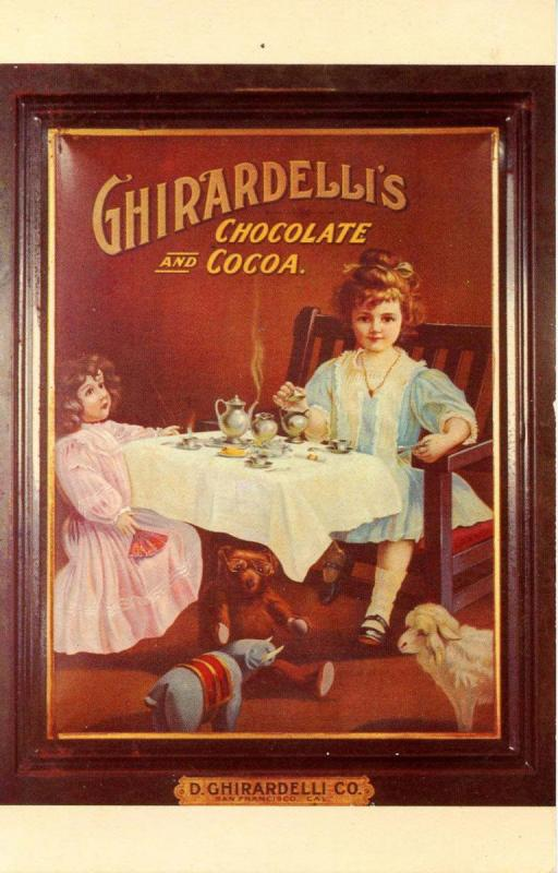 Advertising - Ghirardelli's Chocolate & Cocoa