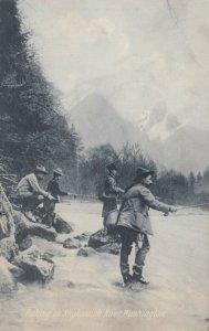 Fishing on SKYKOMISH RIVER, Washington, 1900-10s