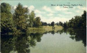 Mirror Of Lake Norcomis, Highland Park -tx_dallas_0101