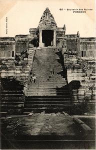 CPA CAMBODIA Souvenir des Ruines d'Angkor (256816)