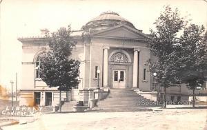 Library Cadillac MI 1912