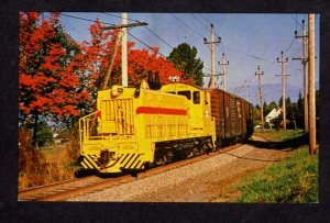 BC British Colombia Hydro Railroad Train 903 Vancouver Carte Postale Postcard PC