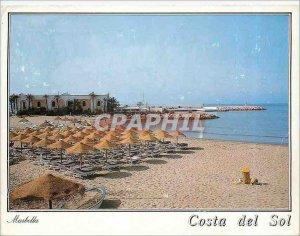 Postcard Modern Marbella Playa del Faro