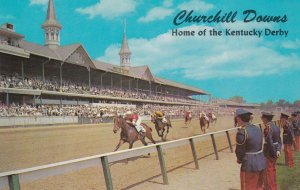 LOUISVILLE , Kentucky, 50-60s ; Derby Day