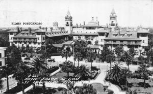 ST. AUGUSTINE, FLORIDA HOTEL PONCE DE LEON RPPC REAL PHOTO POSTCARD