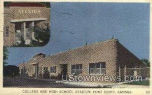 College School Stadium - Fort Scott, Kansas KS