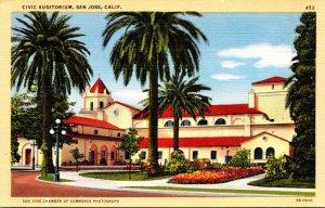 California San Jose Ciivic Auditorium