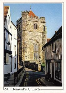 Postcard St. Clements Church HASTINGS East Sussex by Judges