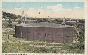 TULSA, Oklahoma, PU-1922; Oil Fields