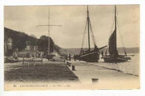Ships in Busy Port,Caudebec en Caux,France 1900-10s