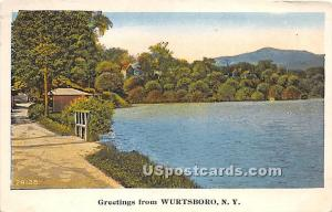 Greetings from Wurtsboro NY 1931