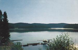 Lake Hoopatatkwa , KAMLOOPS , B.C. , Canada , 50-60s ; Float airplane