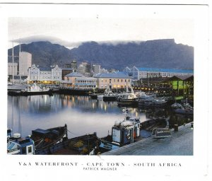 Postcard South Africa Capetown V & A Waterfront