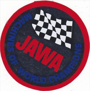 JAWA TEAM MOTOKOV AUTO MANUFACTURING LABEL CZECHOSLOVAKIA