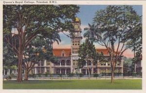 Exterior, Queen's Royal College, Trinidad, B.W.I.,30-40s