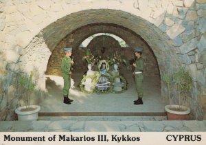 Cyprus Postcard - Monument of Makarios III, Kykkos  RR9162