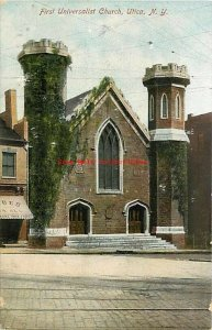 NY, Utica, New York, First Universalist Church, Austin & Ross No. 10