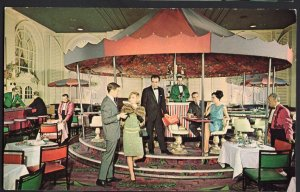 MA BOSTON Interior - Sheraton-Plaza Hotel The Merry-Go-Round Lounge 1950s-1970s