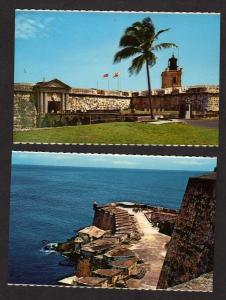 PR Lot 2 Castillo San Felipe del Morro SAN JUAN PUERTO RICO Postcards