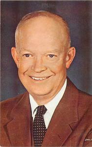 Dwight David Eisenhower, Past President of the U.S.A. Chrome