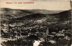 CPA AK MÜNSTER i. Els. gegen Schratzmannle (471947)