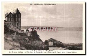 Old Postcard Brittany Picturesque