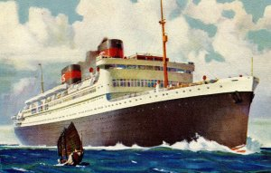 Dollar Steamship Lines - SS President Hoover & SS President Coolidge