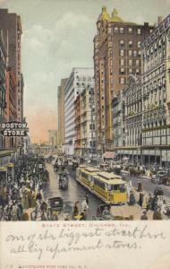 DETROIT, Michigan, 1901-07 ; State Street