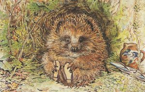 Mr Pricklepan Appley Dapply's Nursery Rhymes Beatrix Potter Postcard