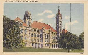FALL RIVER, Massachusetts, 1930-1940´s; B.M.C. Durfee High School