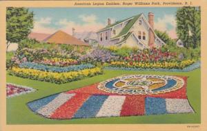 Rhode Island Providence Roger Williams Park American Legion Emblem