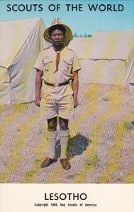 Lesotho Boy Scout Jubilee 1968 Boy Scout Uniform