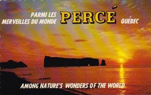 Canada The Unforgettable Sunrise At Perce Quebec