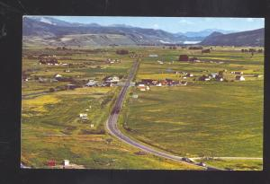 SWAN VALLEY IDAHO NEAR PALISADES DAM SWAN VALLEY JACISON HOLE COUNTRY POSTCARD