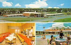 Abilene Texas Colonial Inn Multiview Vintage Postcard K46826