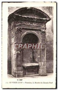 The old Lyon Postcard Old Monee 2 Fountain of new road