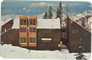Jackass Ski Lodge near Sandpoint Idaho ID, Chrome