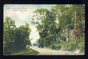 Kansas City, Missouri/MO  Postcard, Cliff Drive, North Terrace Park, 1907!