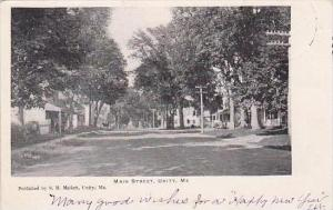 Maine Unity Main Street