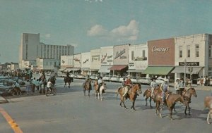BRYAN , Texas , 1950-60s ; Parade on Main Street